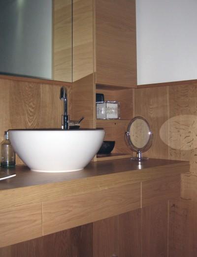 bagno in rovere | sala Lab