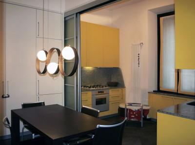 Cucina gialla sala lab for Enrico esente arredamenti