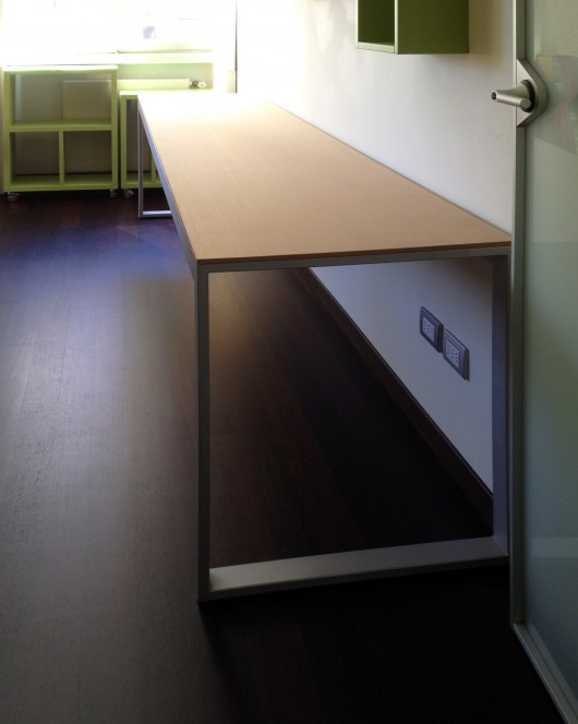 scrivania su misura sala enrico arredamenti